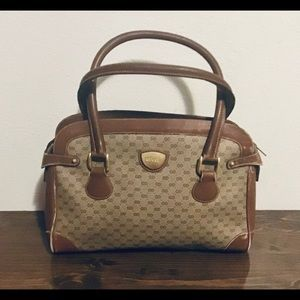 Vintage Gucci Brown Well Used Purse